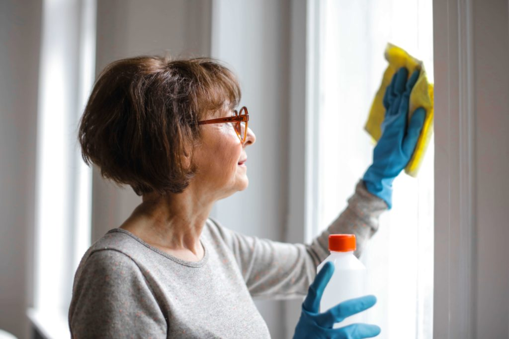 Deep cleaning your home